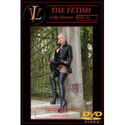 Lady Vanessa Fetish DVD 33-34 Cover front