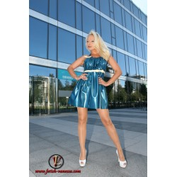 Lady Vanessa Marilyn Latex Dress front side