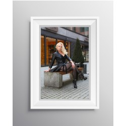 """Poster """"Nylons in the City"""""""